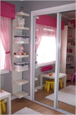 Contoh Desain Interior Unik Untuk Lemari Anak