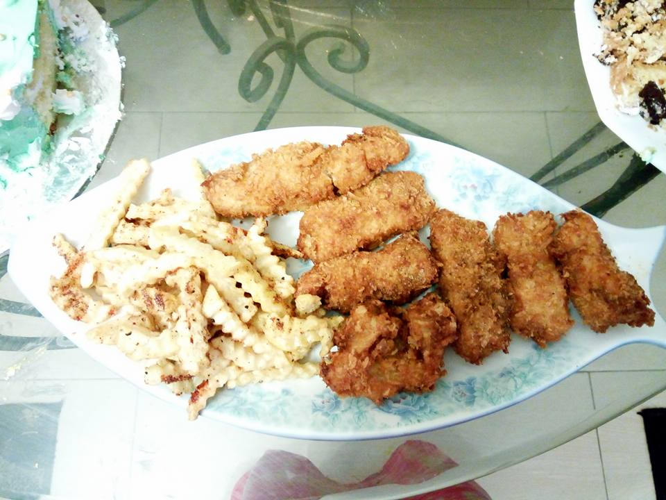 how to cook fish fingers and chips