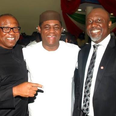 FFK, Peter Obi, Dino Melaye:
