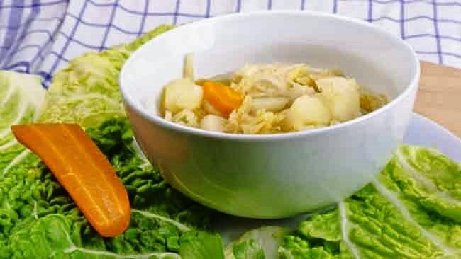 Como preparar la sopa de repollo para adelgazar