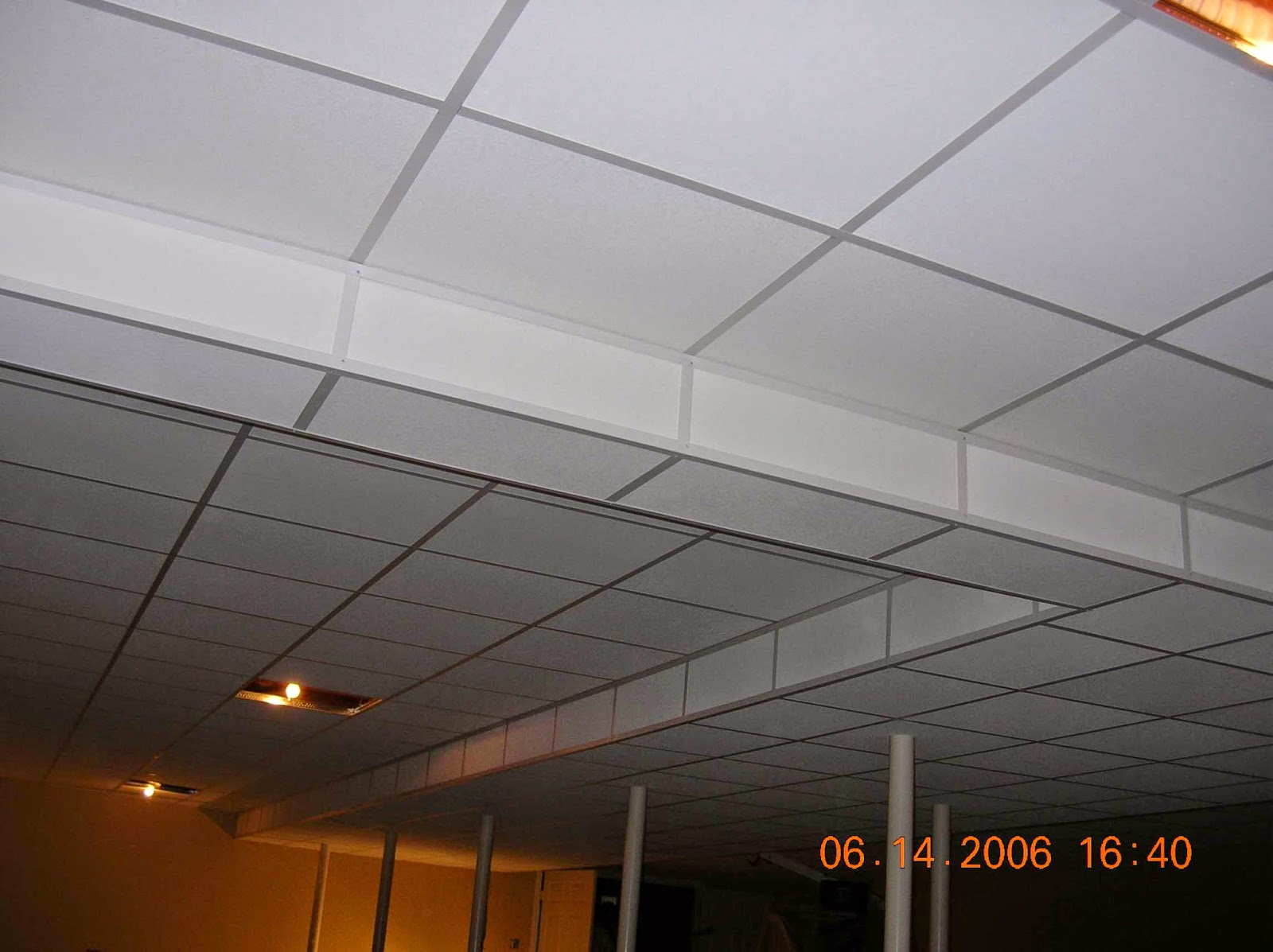 ideas for camoflaging a drop ceiling - Basement Drop Ceiling Ideas Instant Knowledge