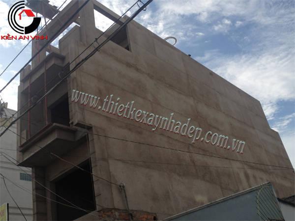 Thiết kế thi công xây nhà ống 2 tầng chị Trúc tại quận 7 Thi-cong-nha-pho-5