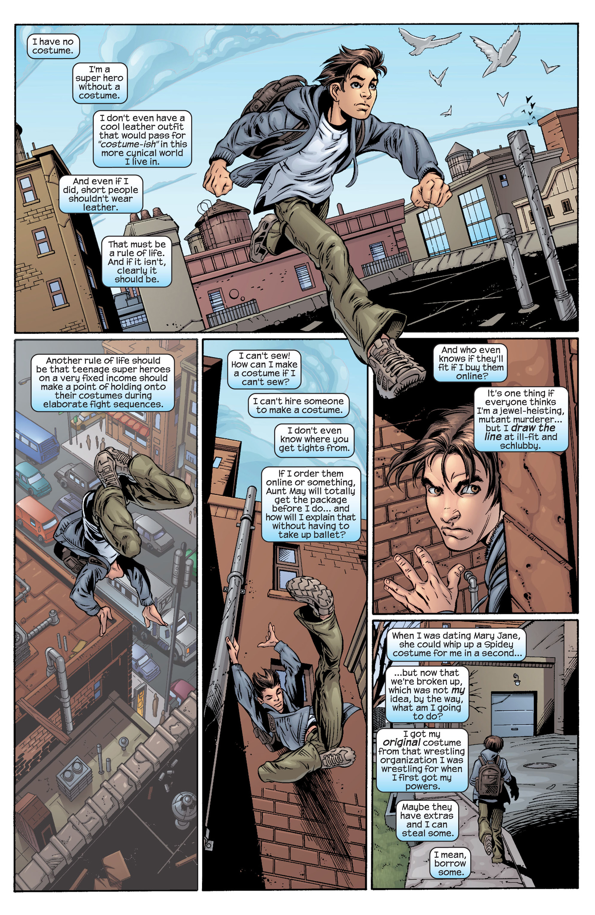 Read online Ultimate Spider-Man (2000) comic -  Issue #40 - 4