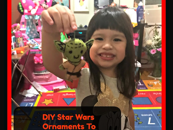 DIY Star Wars Ornaments To Celebrate Star Wars #TheLastJedi