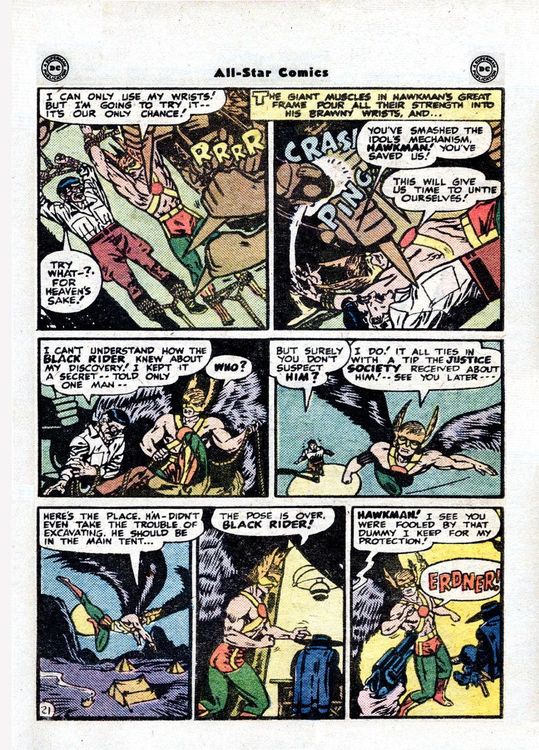 Read online All-Star Comics comic -  Issue #36 - 25