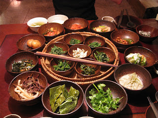 Vegetarian Korean Dish
