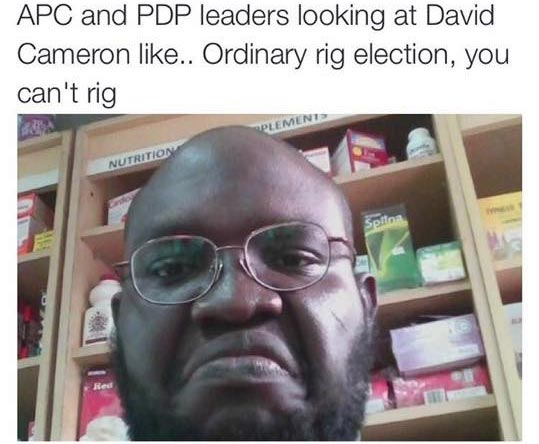 Hilarious meme: How Nigerian politicians be looking at UK prime minister over Brexit