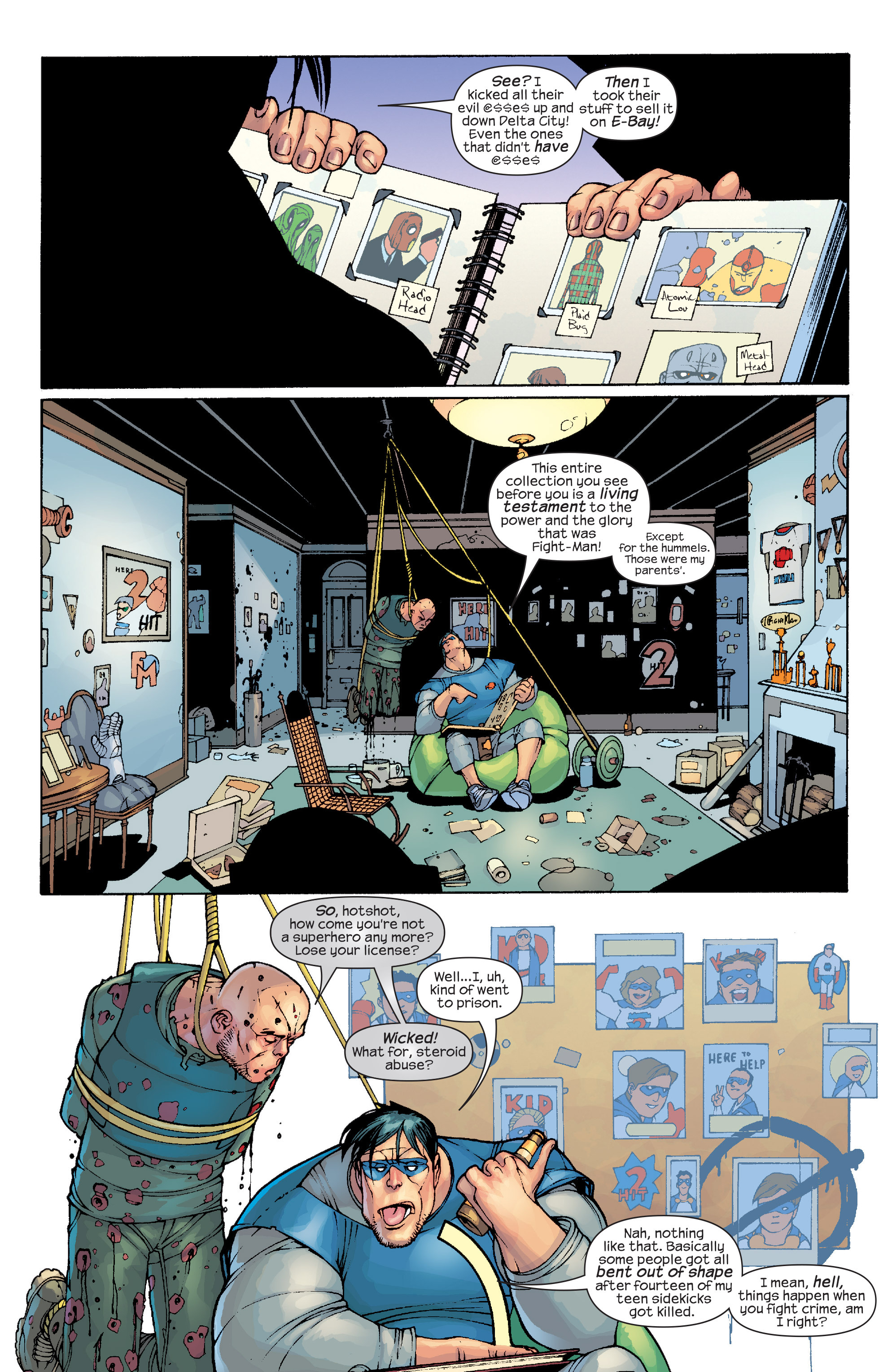 Read online Agent X comic -  Issue #10 - 15