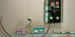 fasilitas air panas homestay dieng