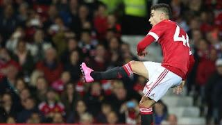 Manchester United Pinjamkan Andreas Pereira ke Granada