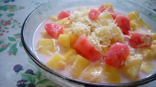 fruits salad, makanan penutup