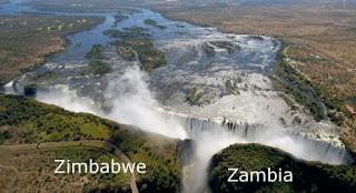 victoria falls zambia zimbabwe