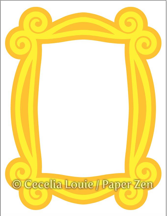Welcome to Paper Zen ~ Cecelia Louie: Monica\'s Picture Frame from ...