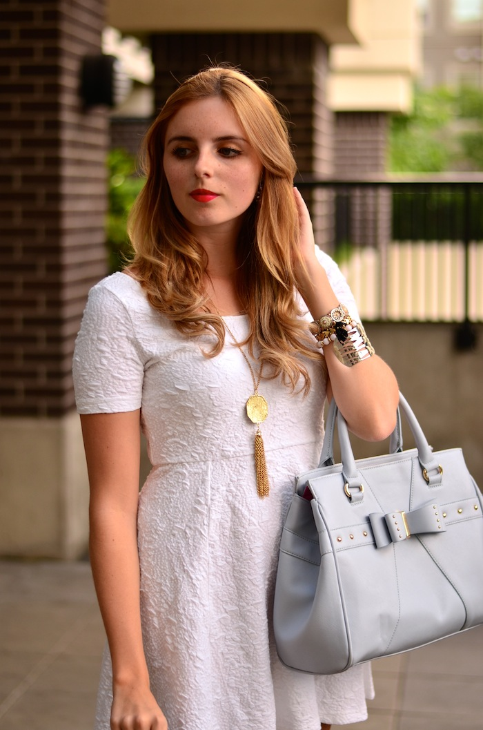 Summertime Little White Dress