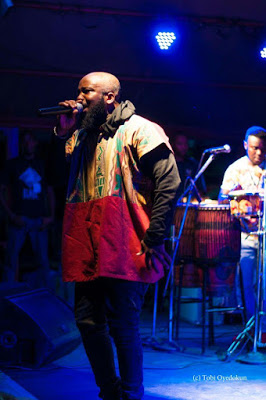 Ghanaian Rapper Trigmatic Shines At Felebaration