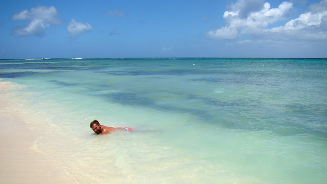 Karaiby, morze