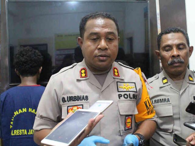 Polisi Gagalkan 2 Remaja Penyeludup Ganja Kering ke Sorong dan Yapen