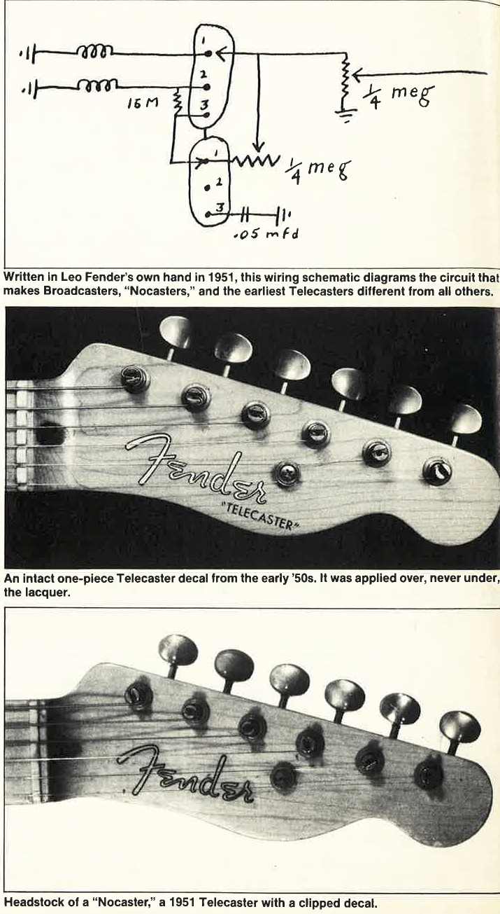 Broadcaster Guitar Wiring Diagram Picturesque Blend Www Telecaster Lovers Like To Say That 715x1305