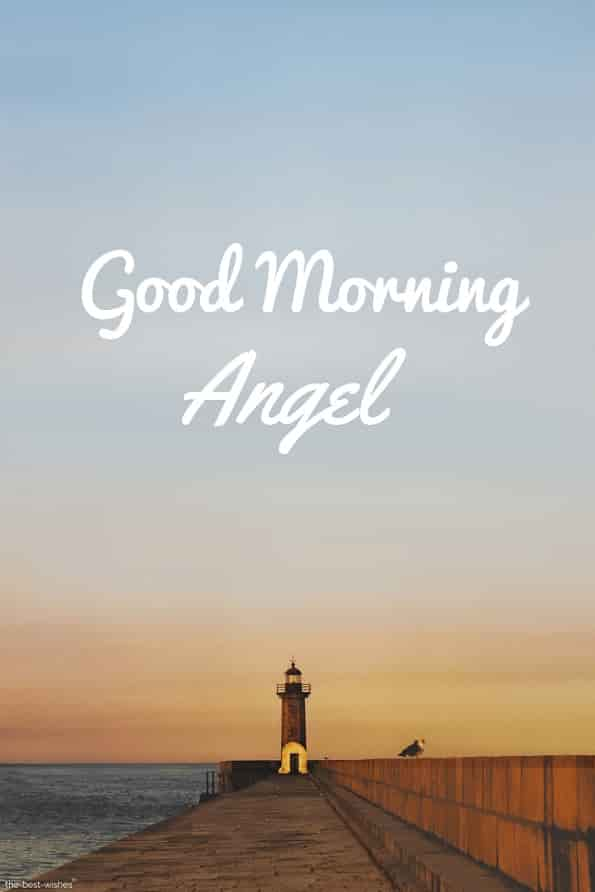 very good morning angel image