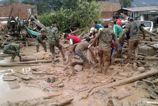 Número de mortos em tragédia na Colômbia sobe para 234