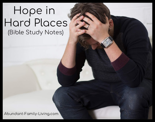 Hope in Hard Places (Stories of Hope Series)
