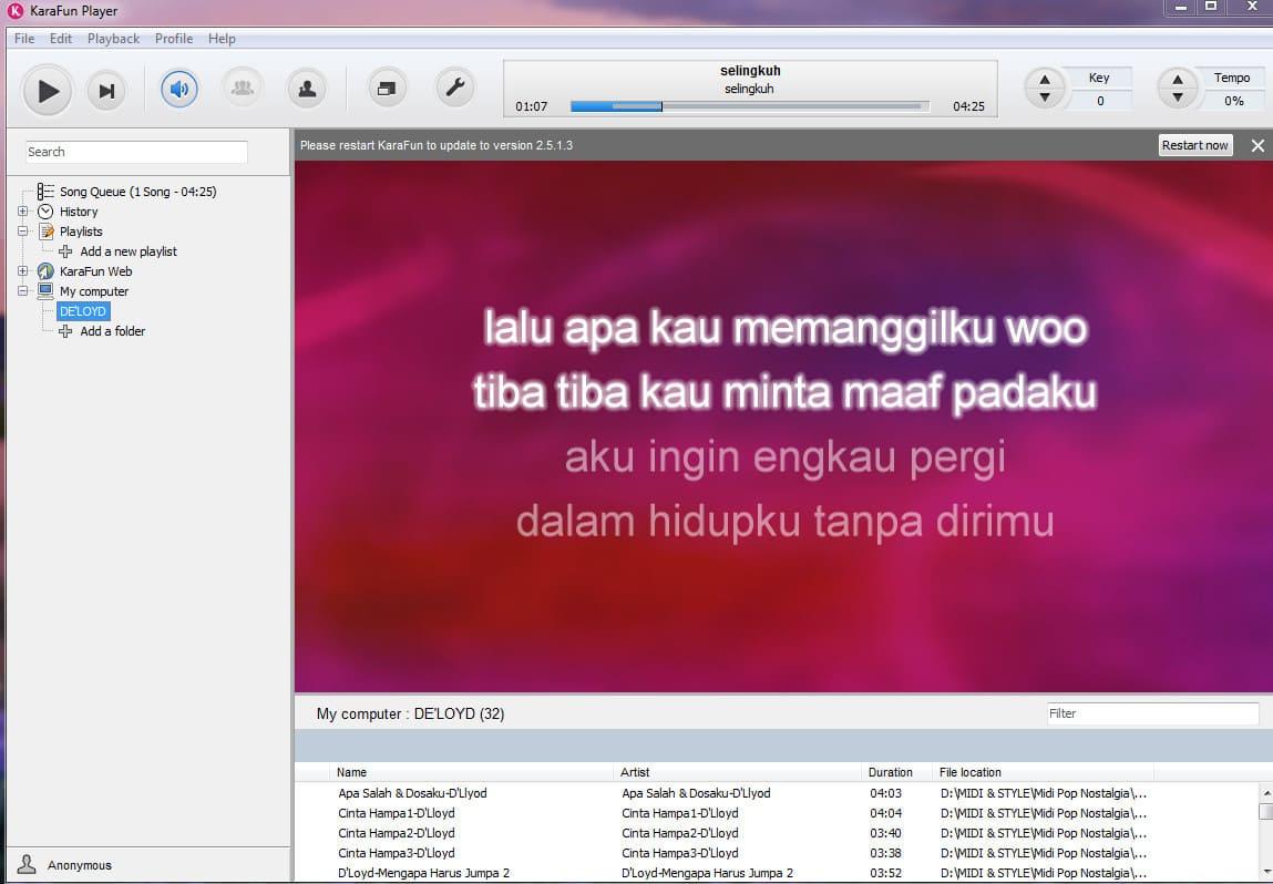 Software Pemutar Midi Yang Bisa Traspose Dan Tampilan Lirik