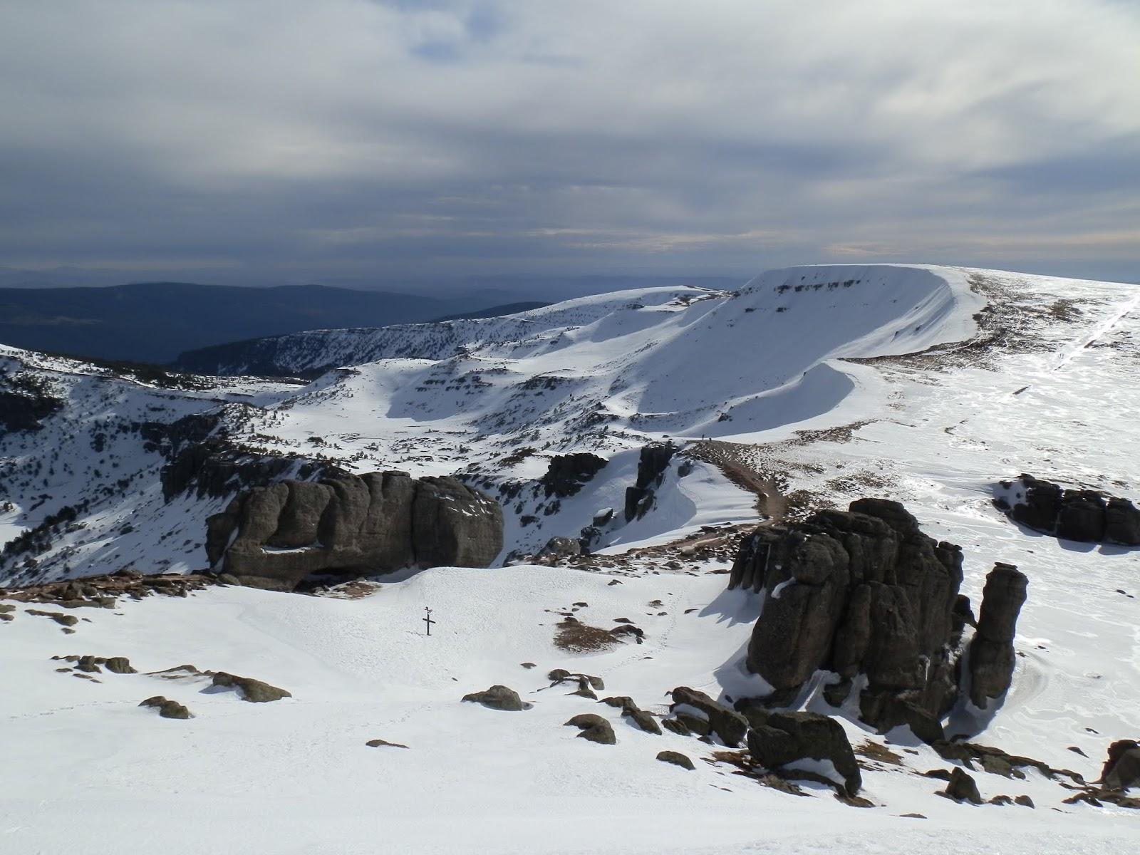 Picos de Urbion, senderismo invernal