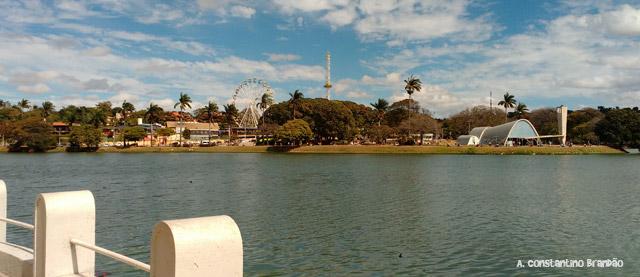 vista da Lagoa da Pampulha