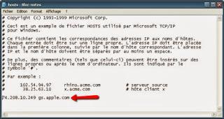 Edit File Hosts