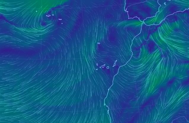 Fuertes lluvias Canarias, sábado 30 de marzo