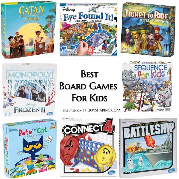 2019 Holiday Gift Guide for Kids - Top Board Games
