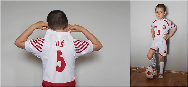 strój siatkarski dla dziecka