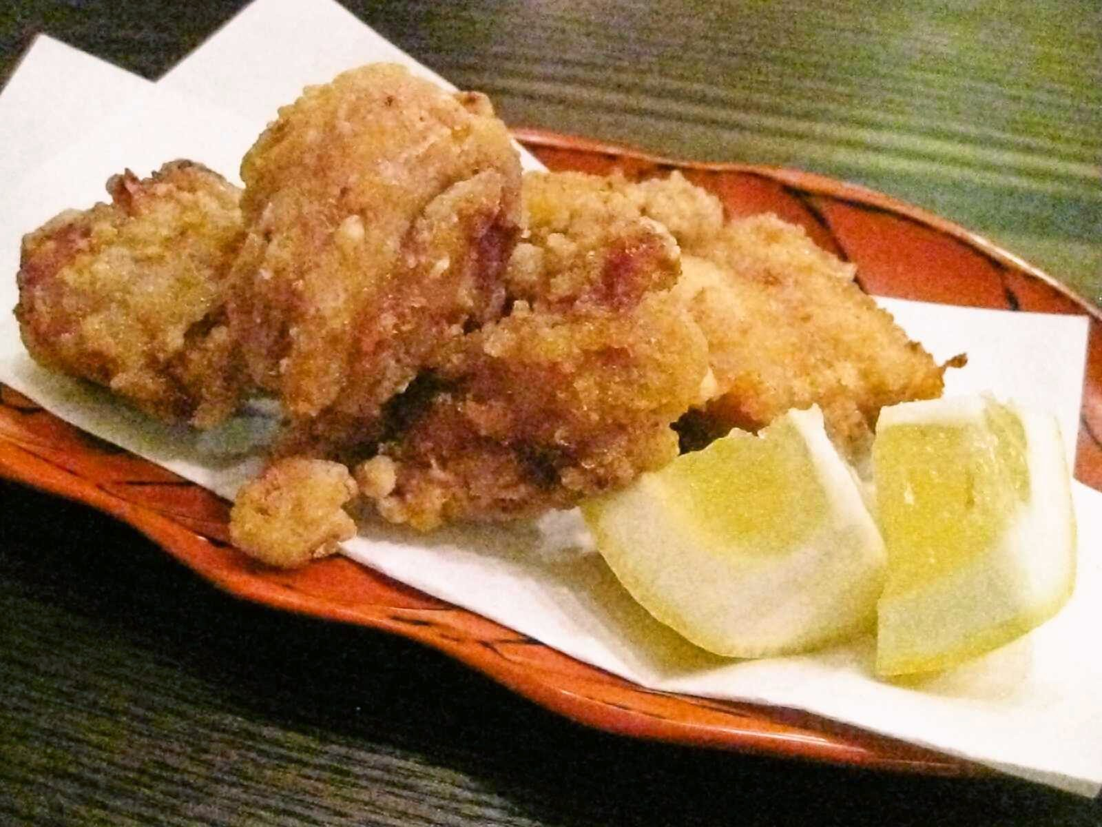 Recipes for Tom: Tori no karaage / fried chicken