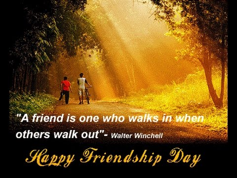 Friendship day quotations in English