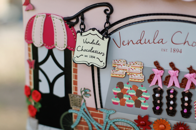 3D details on Vendula London Chocolatier Grab Bag