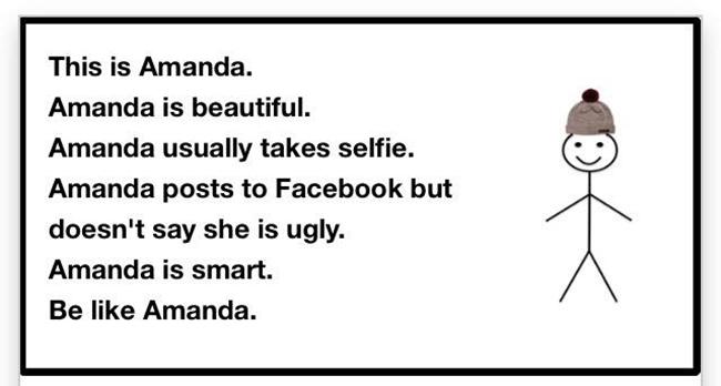 The Weekender: Be Like Amanda