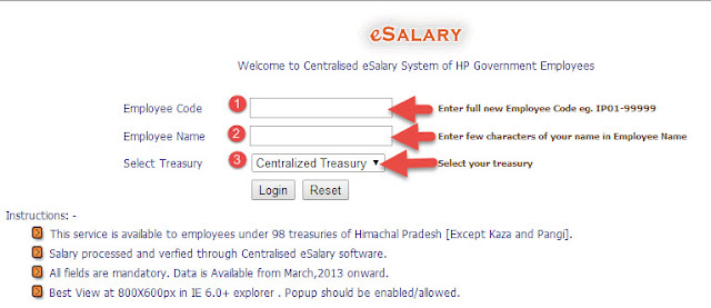 himkosh salary slip