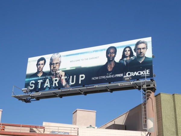 StartUp season 2 Crackle billboard