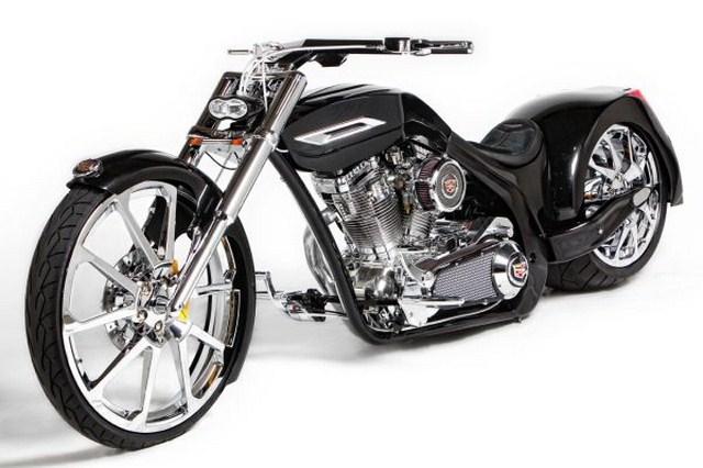 American Chopper Cadillac Cts V Motorcycles High Revs