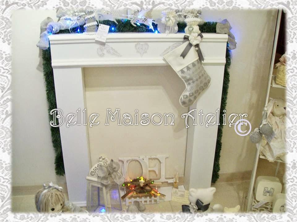 Belle maison la calza dell 39 epifania e finto camino for Finto camino natalizio