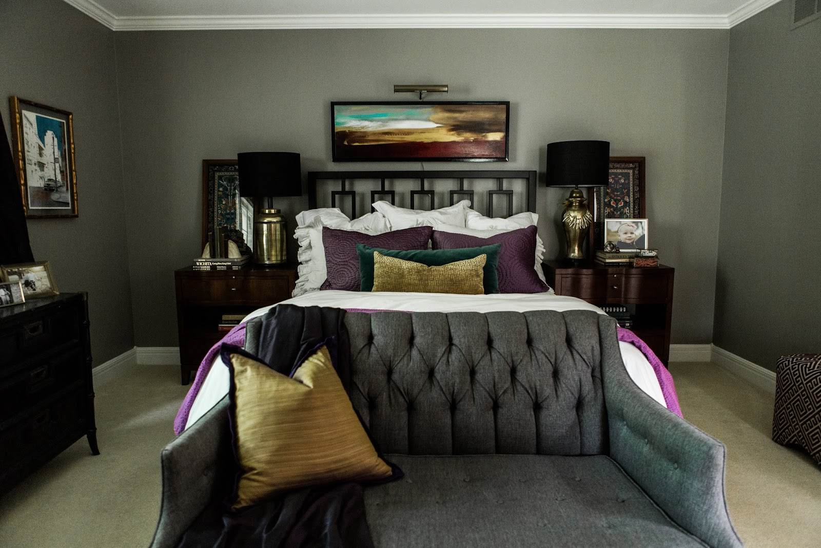 Master Bedroom Makeover Before & After - Street Flea Style