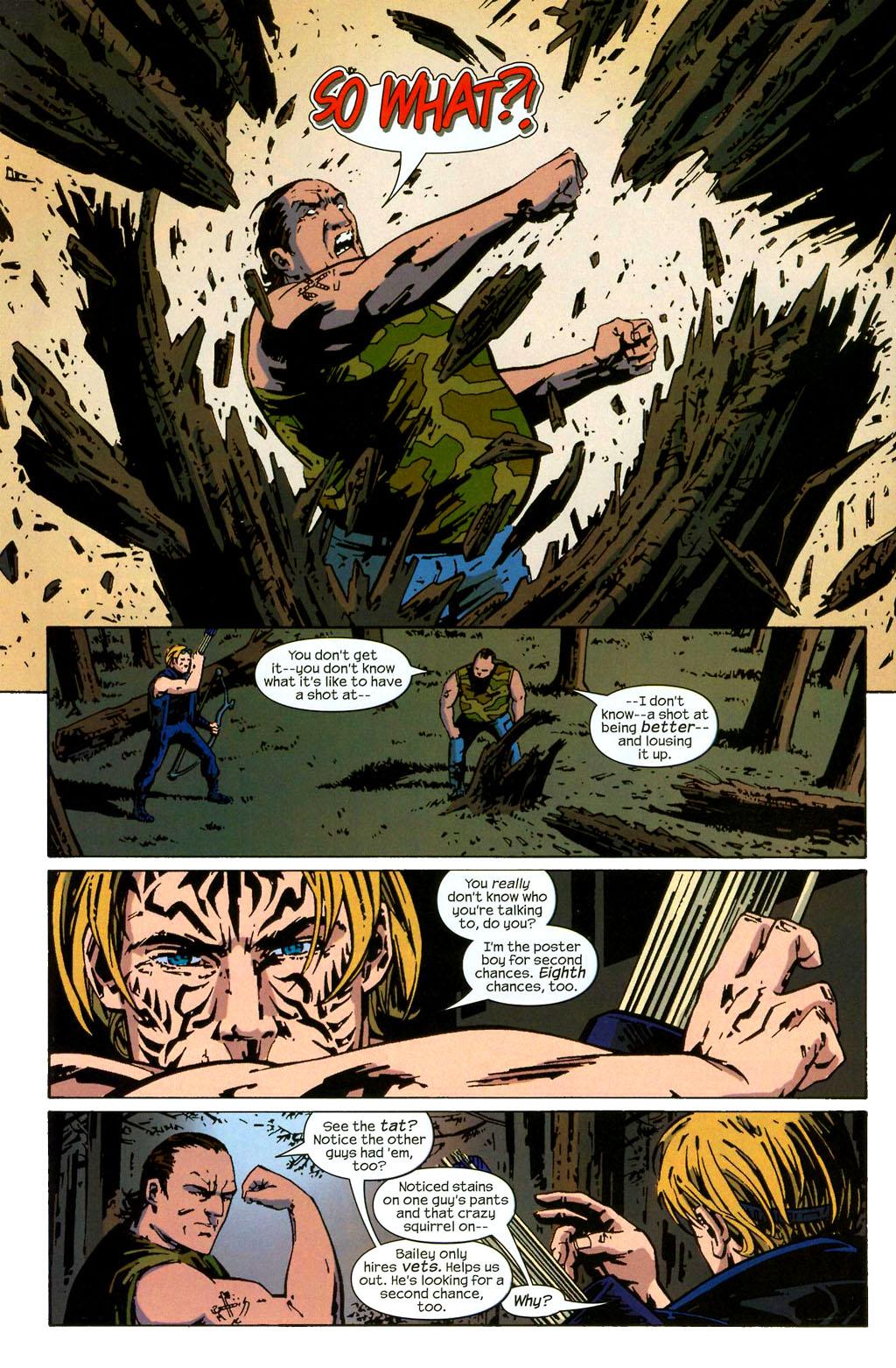 Hawkeye (2003) Issue #2 #2 - English 12