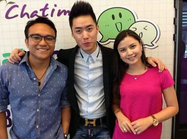 Chatime ambassadors Lisa Surihani and Shaheizy Sam