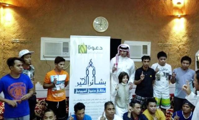 ALHAMDULILLAH, 13 Pekerja Filipina di Saudi Masuk Islam