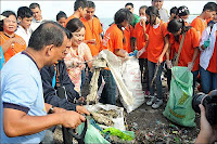 Villar Foundation-DZRH Coastal Clean Up