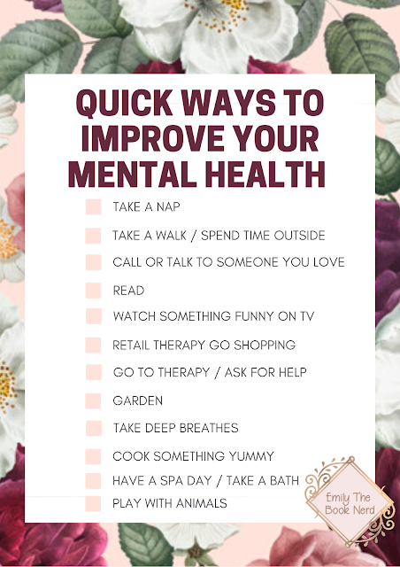mental health check list
