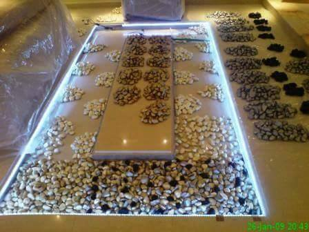 DIY-Adding-Glass-Flooring-With-Pebble-in-Your-Home%2B%25281%2529 25 Incredible Ideas Adding Glass with Pebble in Your House Flooring and Furniture Interior