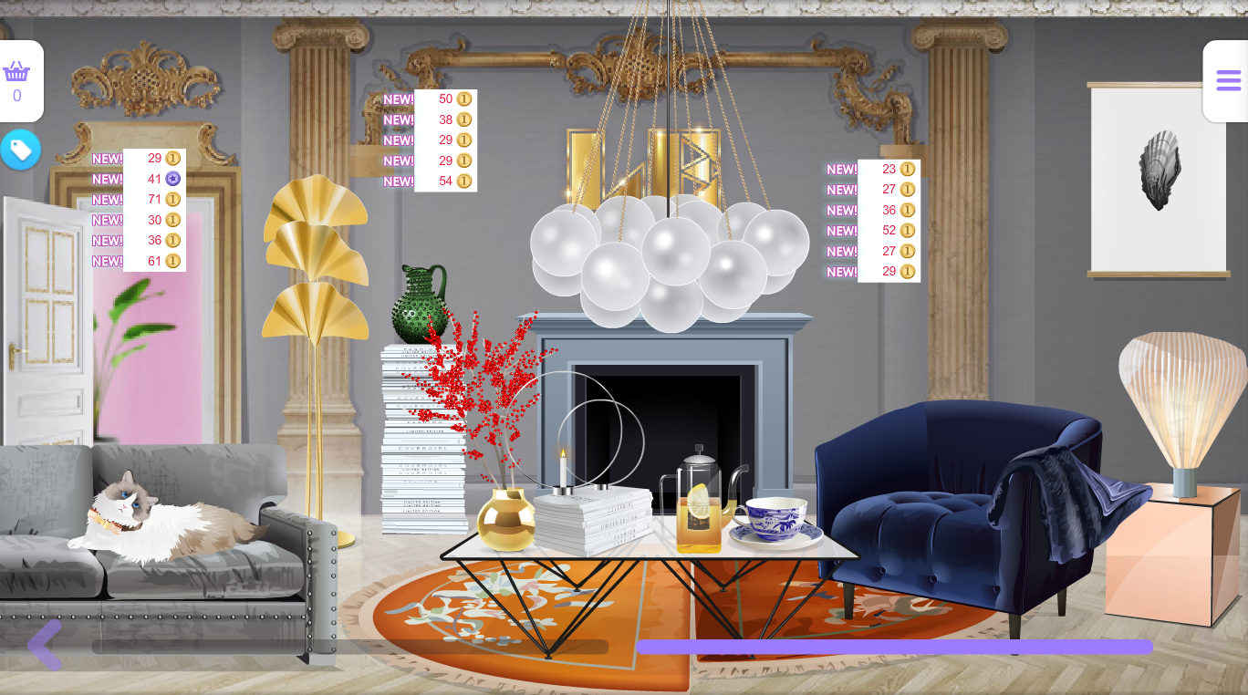 Le decor released and quick giveaway stardoll 39 s most for Les decorations