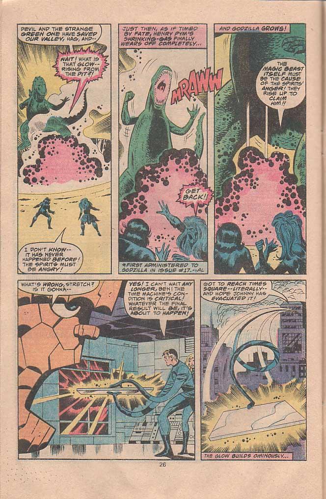 Godzilla (1977) Issue #22 #22 - English 15