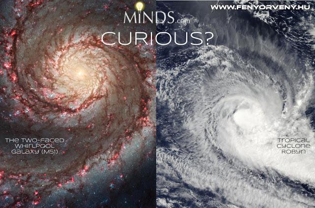 Hasonlóságok: Galaxis - Ciklon